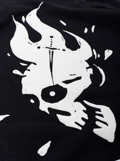 """Manto """" Voodoo """" Black Hoodie"""