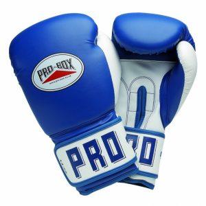 Pro-Box PU Club Essentials Blue Senior Boxing Gloves