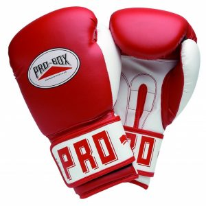 Pro-Box PU Club Senior Boxing Gloves in Red