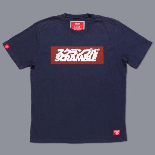 Scramble Grande Logo T-shirt Navy