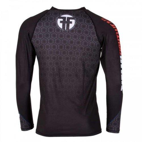 Tatami ® Essentials Black Hexagon Rash Guard