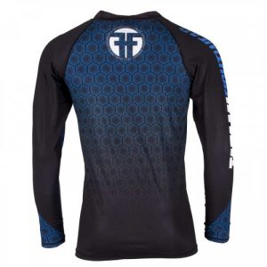 Tatami ® Essentials Blue Hexagon Rash Guard