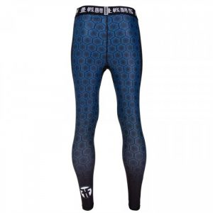 Tatami Essentials Blue Hexagon Fractal Spats