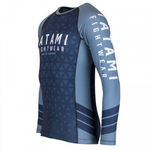Tatami Navy Prism Rash Guard