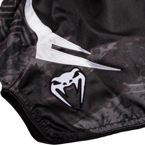 Venum Gladiator 3.0 Muay Thai Shorts Black White