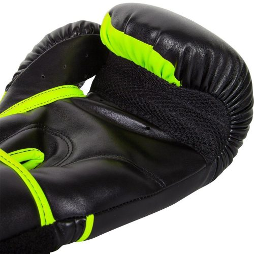 Venum Neon Challenger 2.0 Boxing Gloves Black Neo Yellow