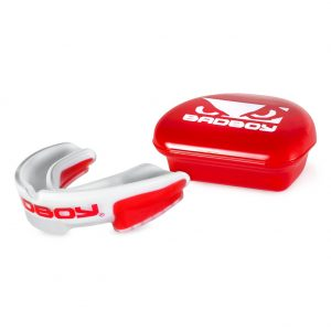 Bad Boy Mouth Guard Multi-Sport White Red