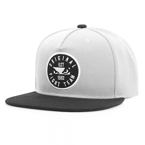 Bad Boy Original Fight Team Snapback Hat Grey
