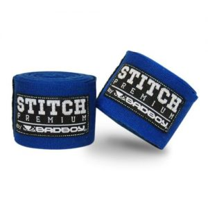Bad Boy Stitch Premium Hand Wraps Blue 5M