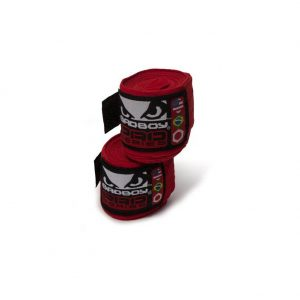 Bad Boy Stretch Hand Wraps Red 3.5M