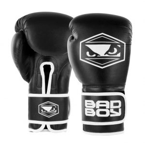 Bad Boy Strike Boxing Gloves Black