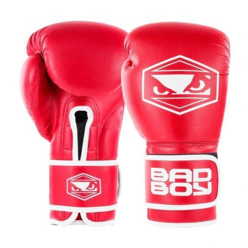 Bad Boy Strike Boxing Gloves Red