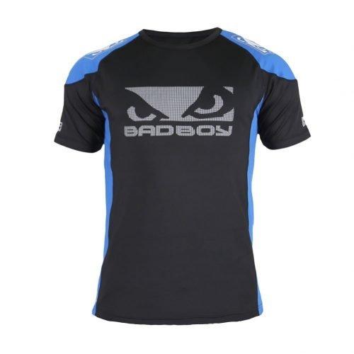 Bad Boy Performance Walkout 2.0 T-Shirt Blue Black