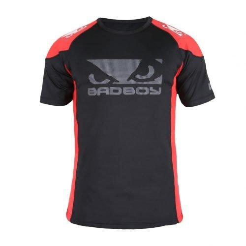 Bad Boy Performance Walkout 2.0 T-Shirt Red Black