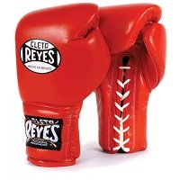 Cleto Reyes Lace Up Boxing Gloves in Red - Cleto Reyes Gloves
