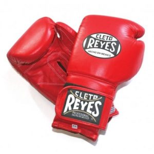 Cleto Reyes Wrap Around Velcro Sparring Gloves Red