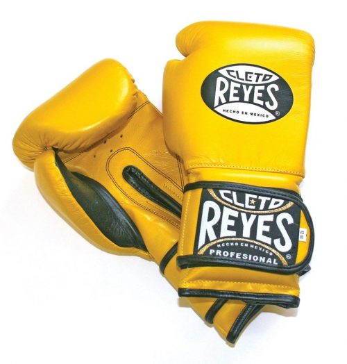 Cleto Reyes Wrap Around Boxing Gloves Yellow