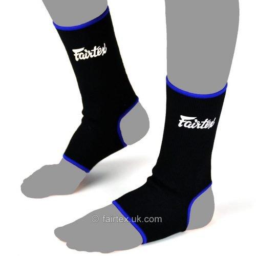 Fairtex Ankle Supports AS1 Black Blue