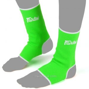 Fairtex Ankle Supports AS1 in Green White