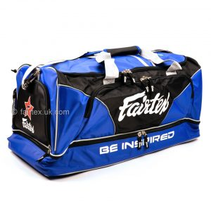 Fairtex Heavy Duty Gym Bag BAG2 Blue