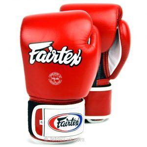 Fairtex Boxing Gloves 3-Tone Red BGV1