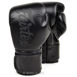 Fairtex BG14 Lightweight Boxing Gloves in Black