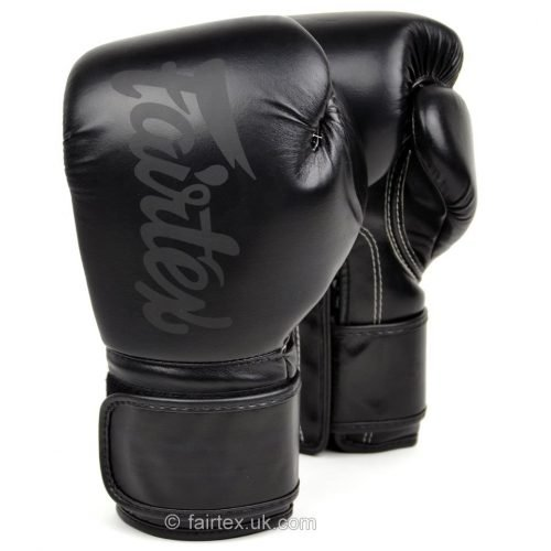 Fairtex BG14 Lightweight Boxing Gloves Black