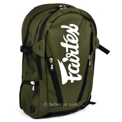 Fairtex Compact Back Pack Bag Jungle Green