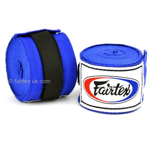 Fairtex Hand Wraps 4.5M Blue HW2 Stretch