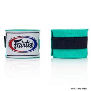 Fairtex Hand Wraps 4.5M Mint Green HW2 Stretch