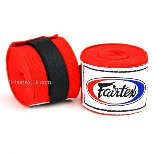 Fairtex Hand Wraps 4.5M Red HW2 Stretch