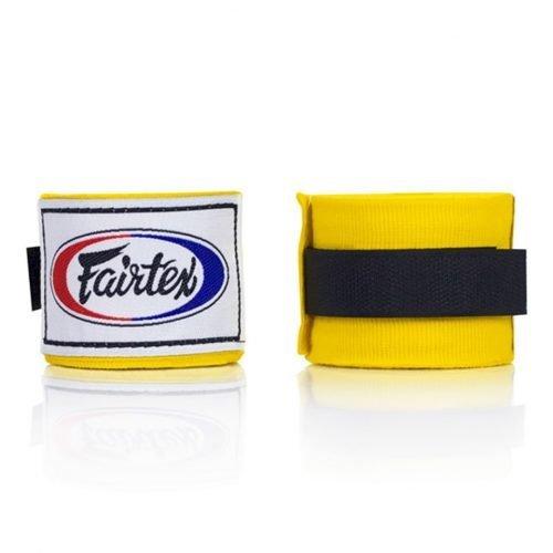 Fairtex Hand Wraps 4.5M Yellow HW2 Stretch
