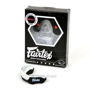 Fairtex Gel MG3 Mouth Guard Black White