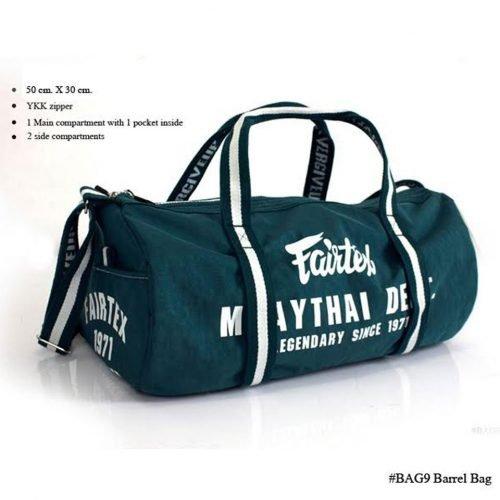 Fairtex Retro Style Barrel Bag Holdall BAG9