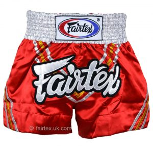 Fairtex Muay Thai Shorts Triangle Red BS0654