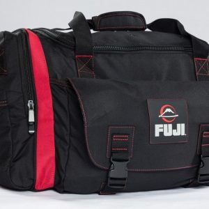 Fuji High Capacity Duffle Bag Black Red