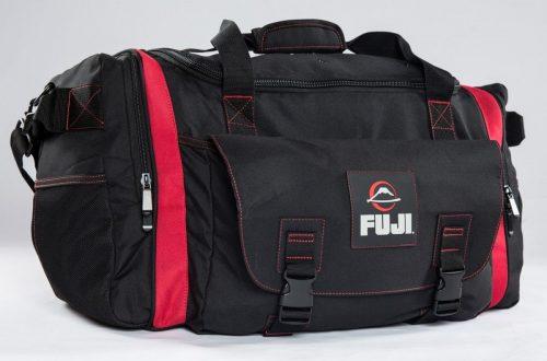 Fuji High Capacity Duffle Bag Black Red