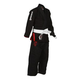 Gameness Air Kids BJJ GI Black G1302