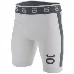 Tenacity Jaco Vale Tudo Compression Long Fight Shorts White