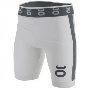Tenacity Jaco Vale Tudo Compression Long Fight Shorts White