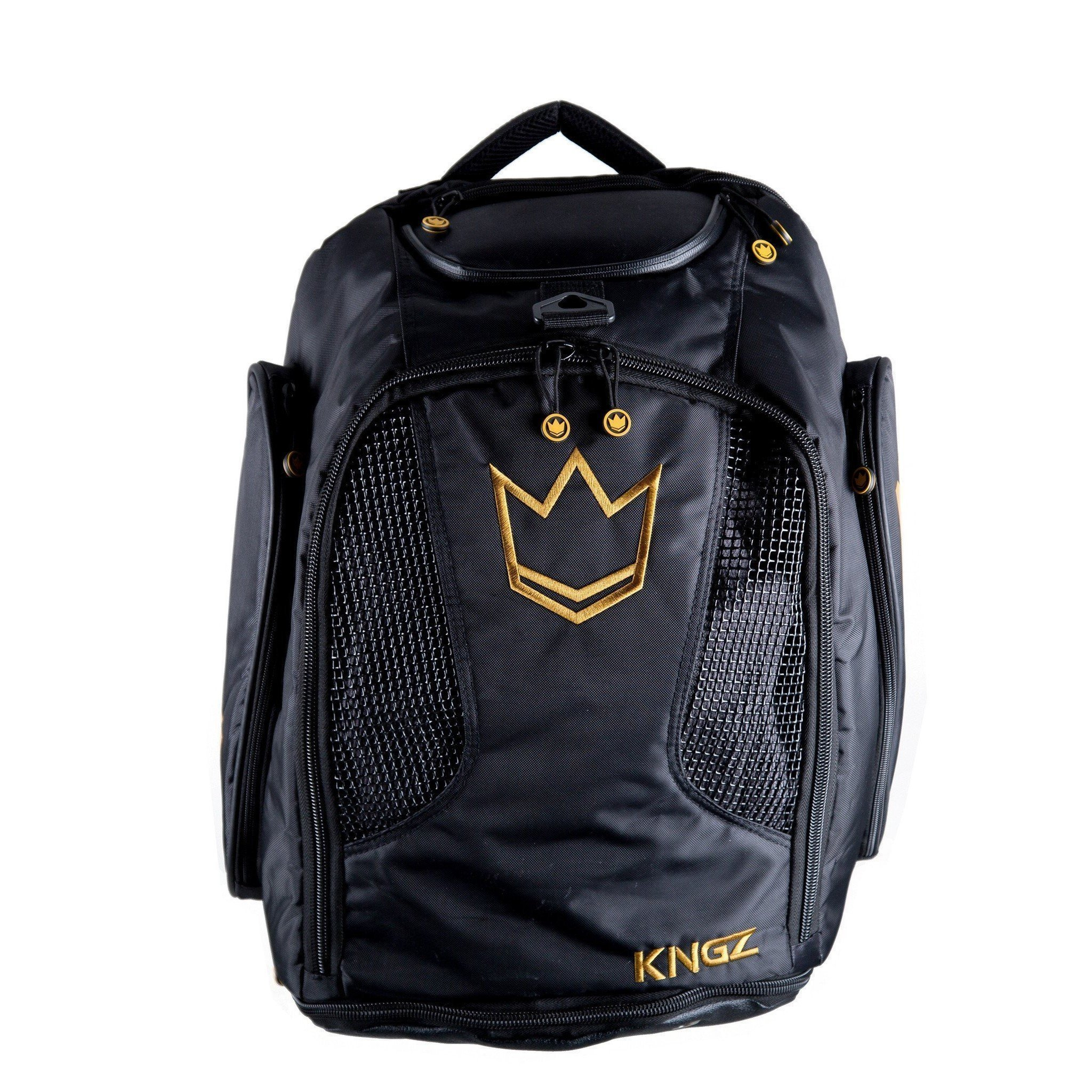 82860f46d209 Kingz Convertible Training Bag Black