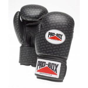 Pro-Box Base Spar Senior PU Gloves Black