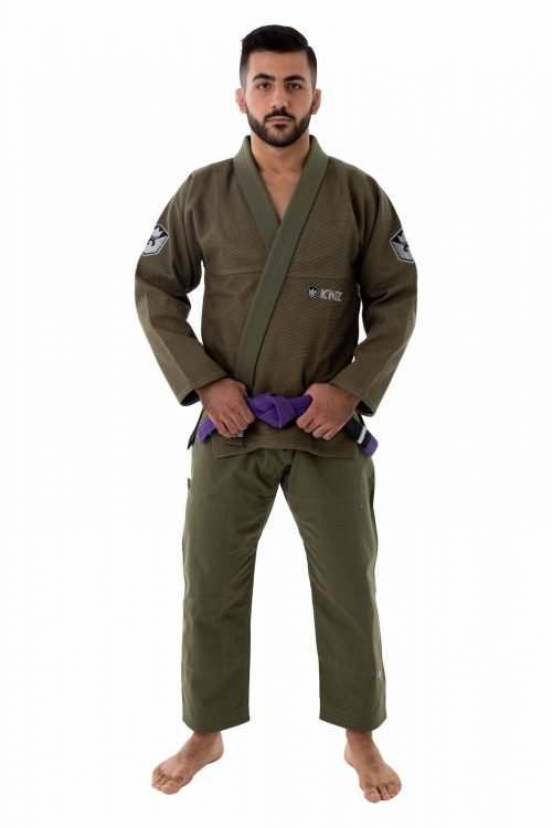 Kingz Balistico 2.0 Military Green Limited Edition BJJ GI