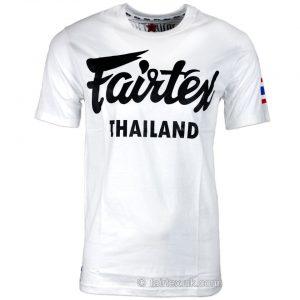 Image of FAIRTEX THAILAND WHITE T-SHIRT TST56.