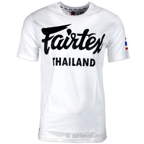 Image of FAIRTEX THAILAND WHITE T-SHIRT TST56.