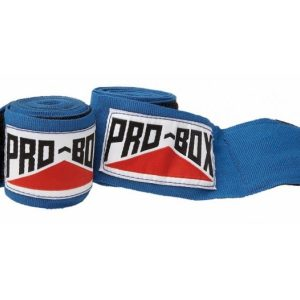 Image of Pro Box Senior AIBA Spec Stretch Hand Wraps Blue