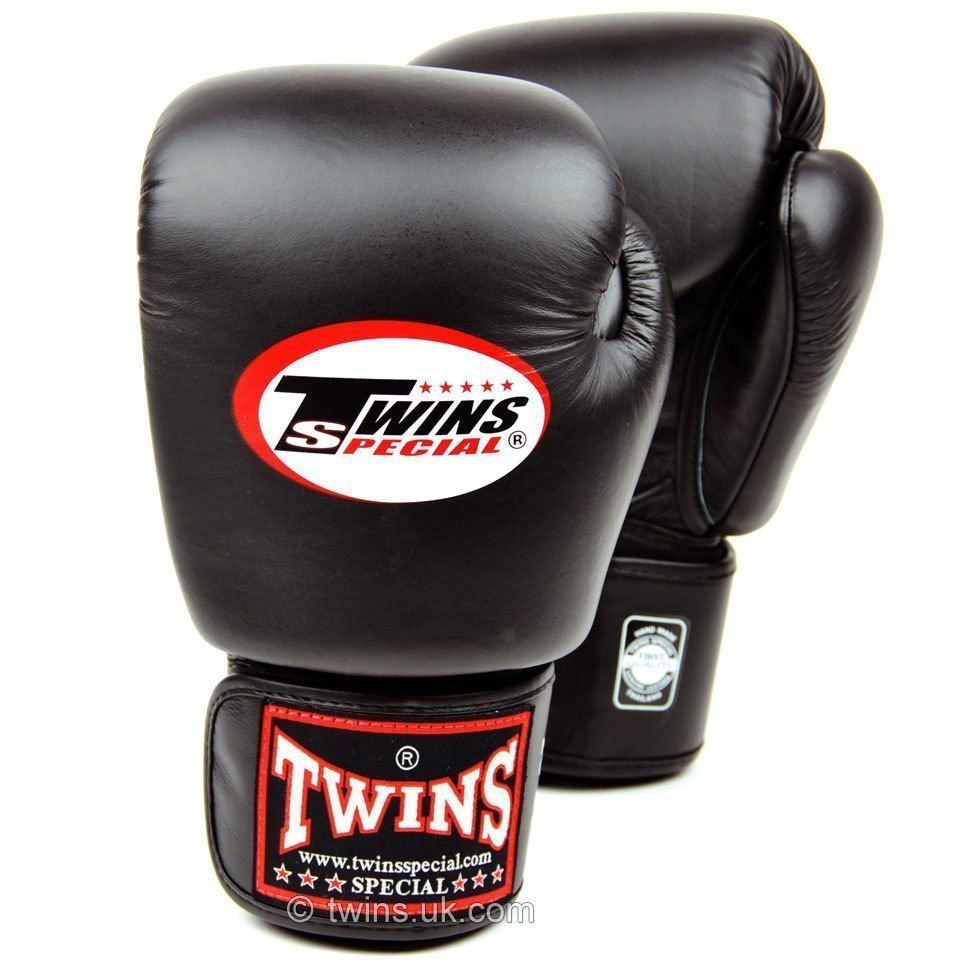 Shiv Naresh Teens Boxing Gloves 12oz: Twins Boxing Gloves Black BGVL-3