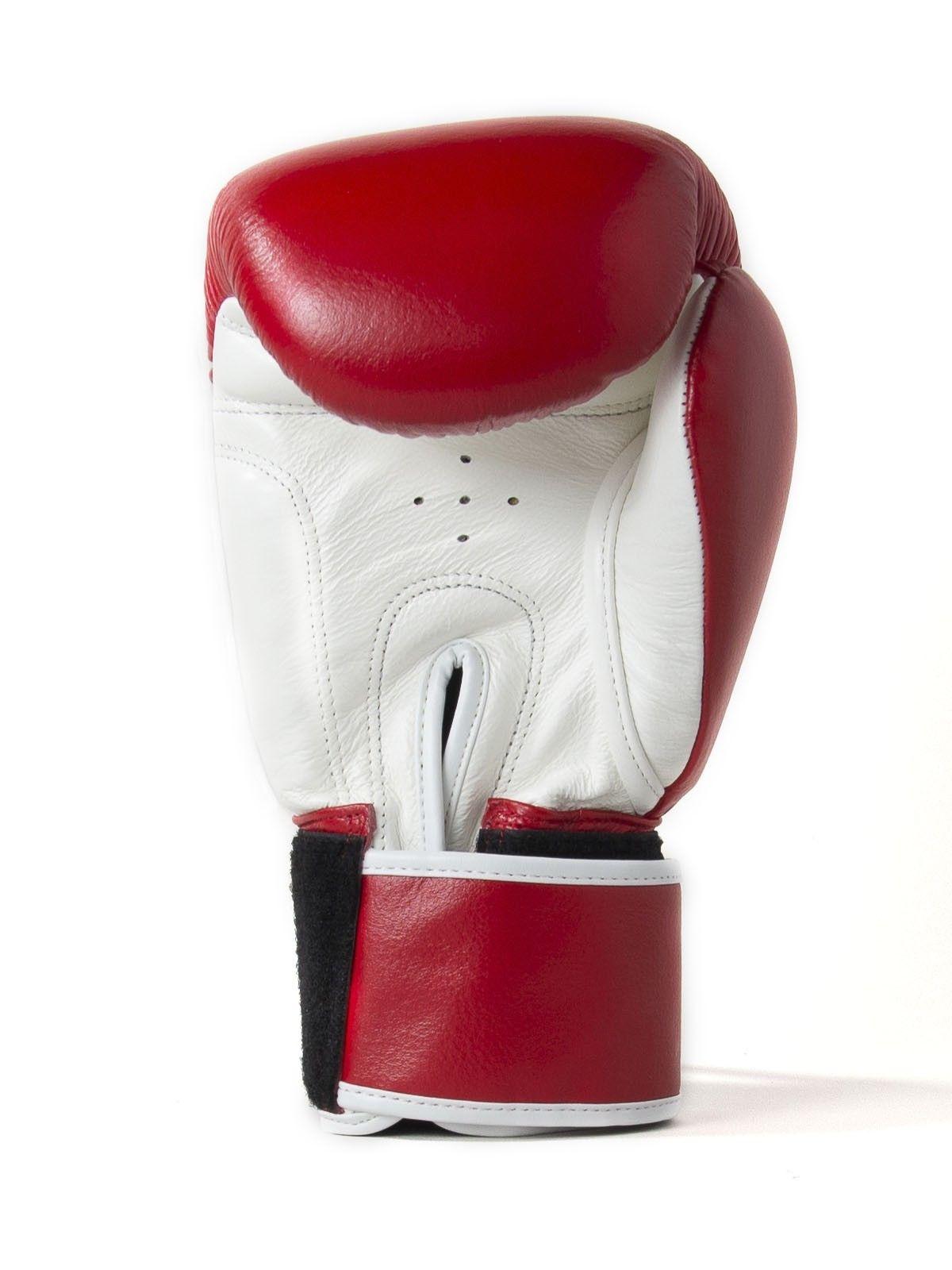 Sandee Red-White Boxing Gloves 16oz