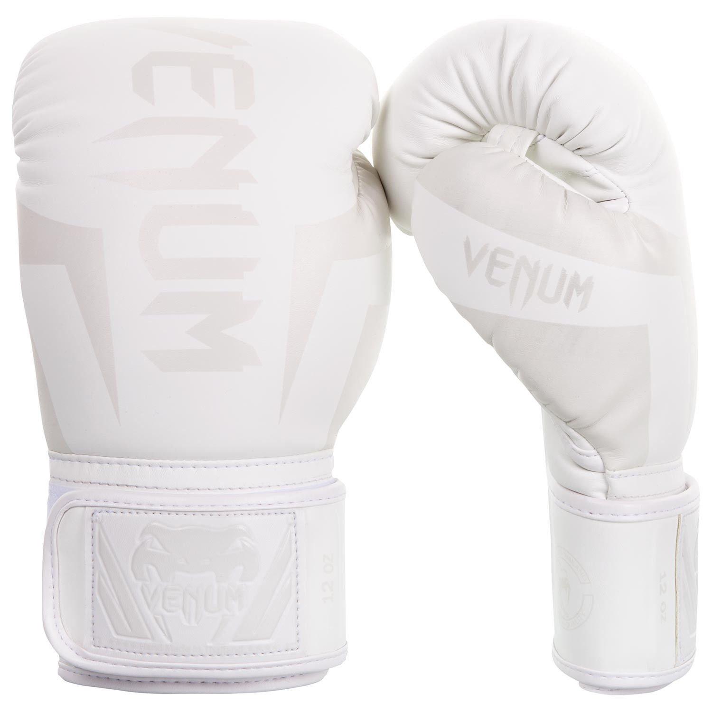 Shiv Naresh Teens Boxing Gloves 12oz: Venum Elite Boxing Gloves In White
