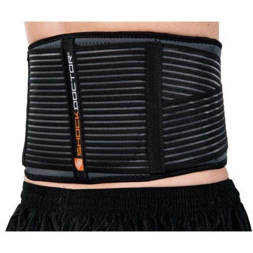 Shock Doctor Back Support Deluxe 836 Lower Lumbar Waist Belt